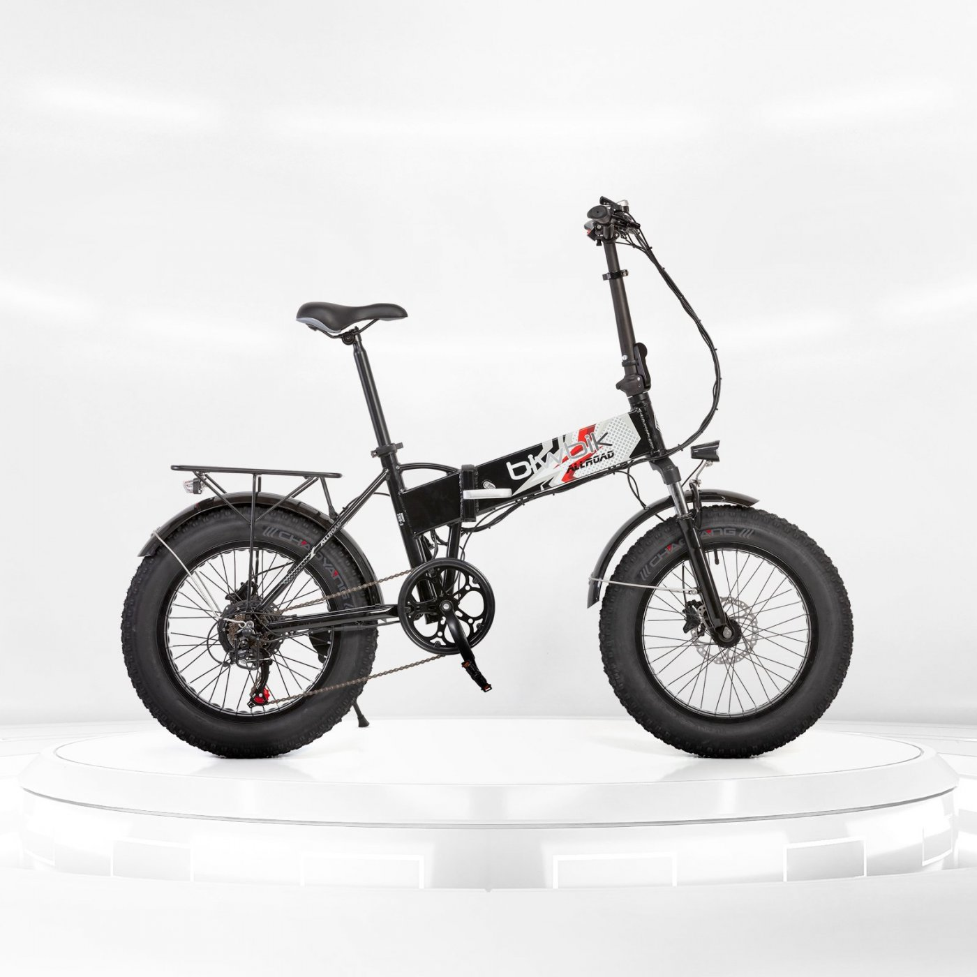 Biwbik All Road folding electric bike black