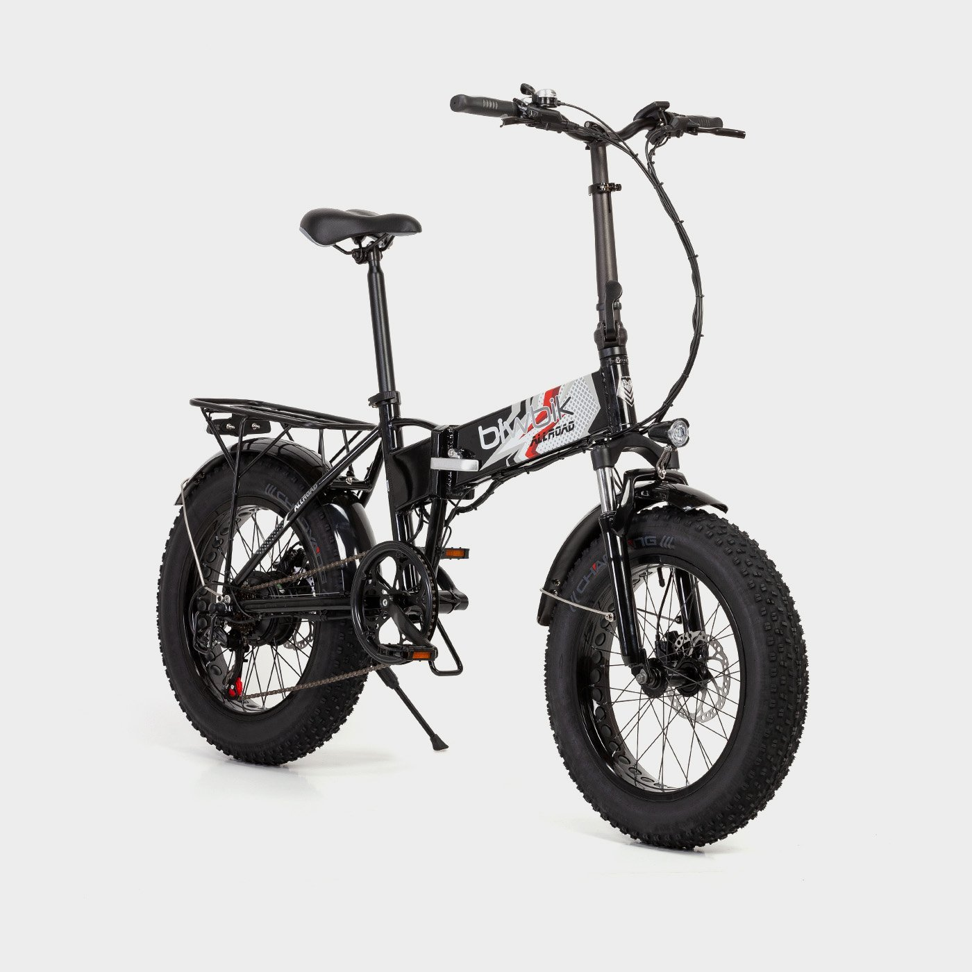 Bicicleta eléctrica plegable Biwbik All Road black