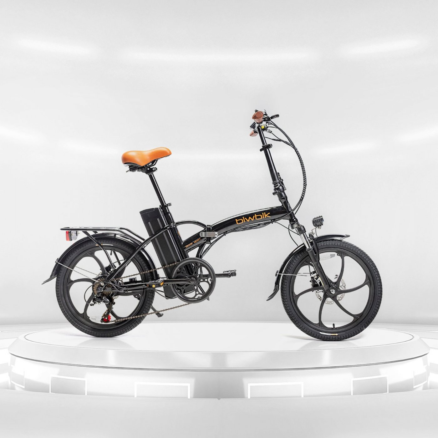 Book Sport black folding electric bike