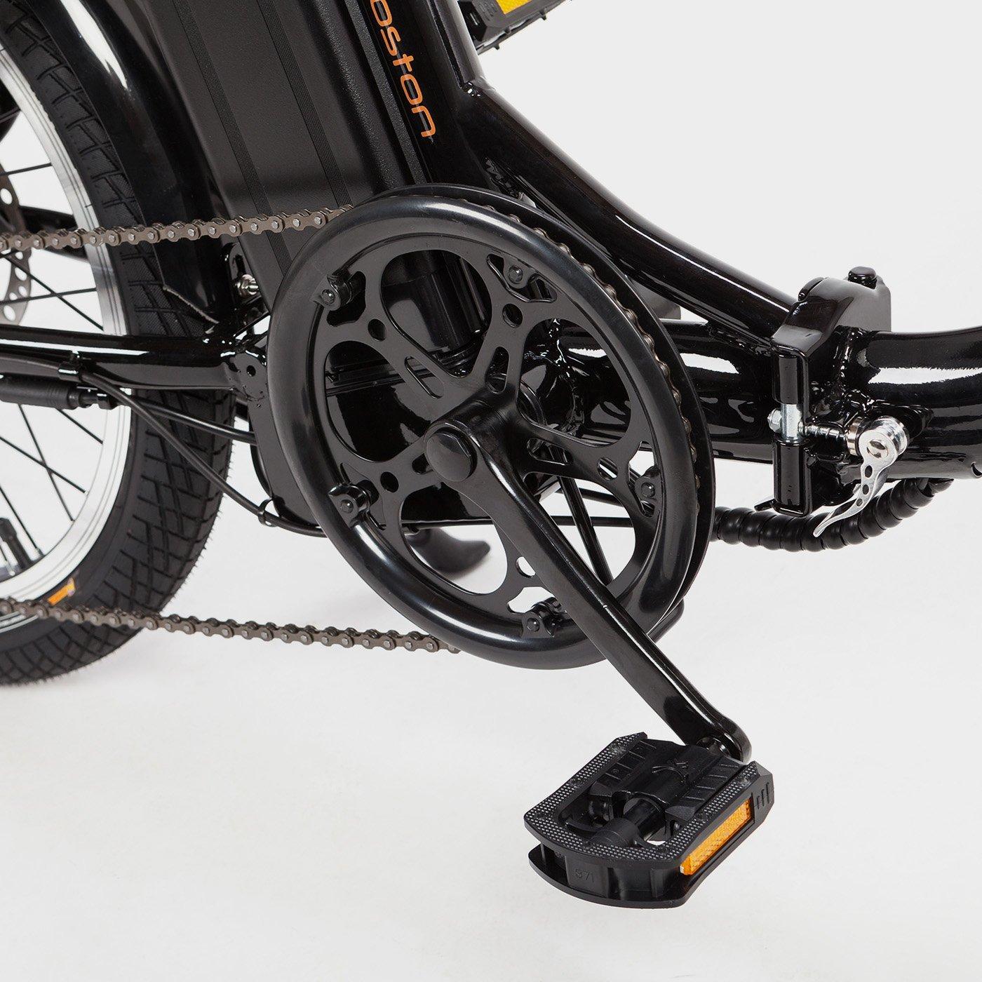Vélo électrique pliant Boston black