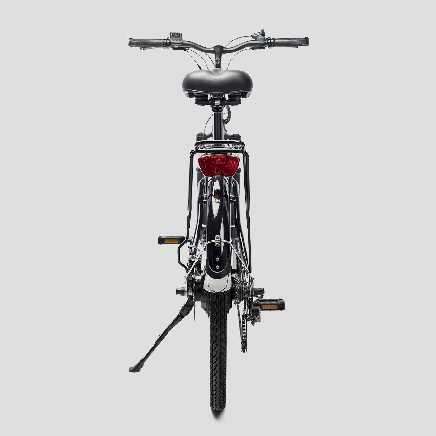 Bicicleta eléctrica de paseo Biwbik Sunray black