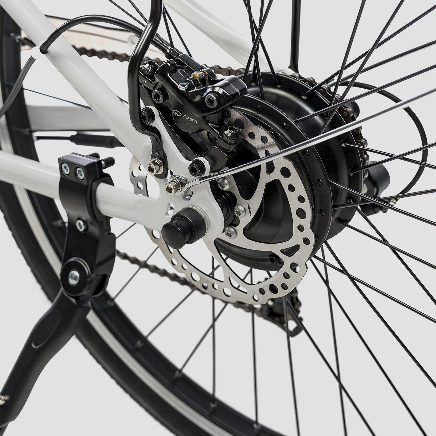 Biwbik Sunray white electric touring bike