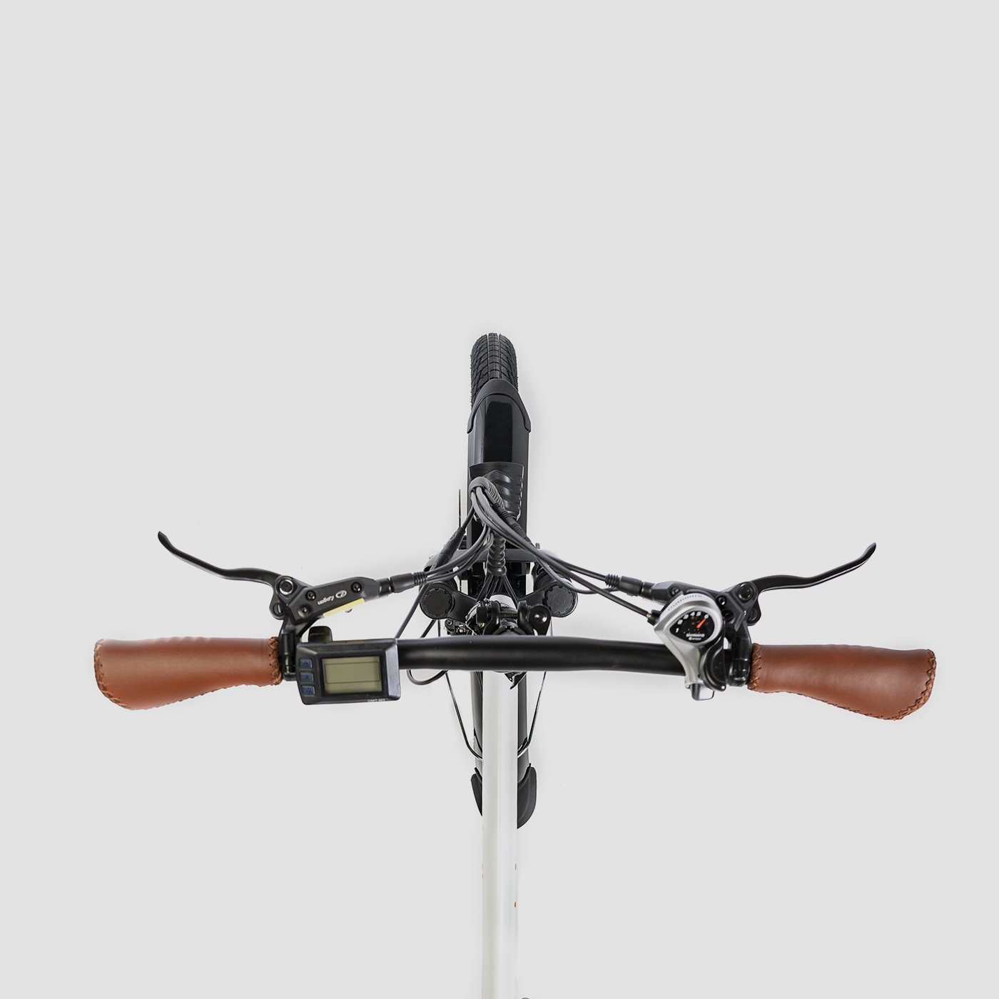 Folding electric bike Biwbik Book Sport white